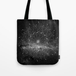 STARGAZING IS LIKE TIME TRAVEL Tote Bag
