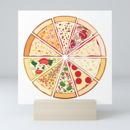 Feast of St. Pizza: Lebanon Edition Mini Art Print