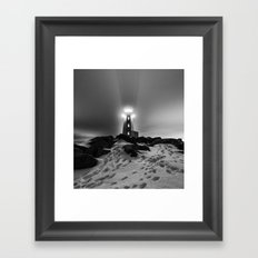 Walk the Winter Framed Art Print