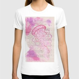 pink jellyfish T-shirt
