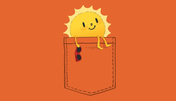 Pocketful of sunshine Pillow Sham