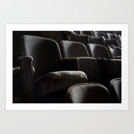 Theater Seats Art Print