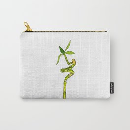 Bamboo Cartoon Carry-All Pouch