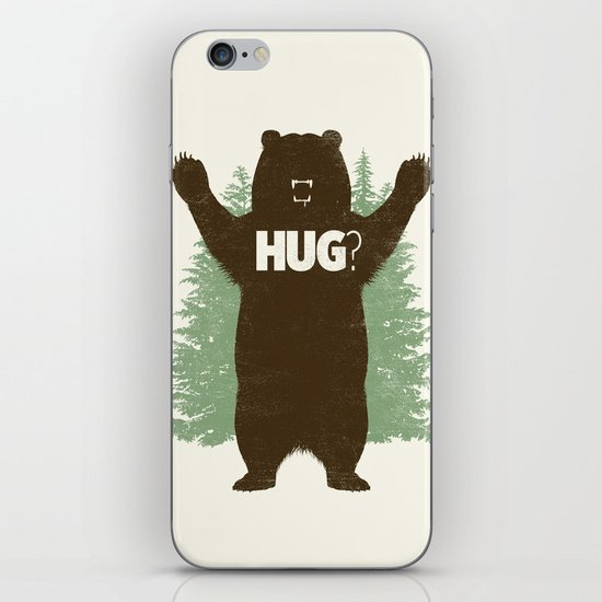Bear Hug? iPhone Skin