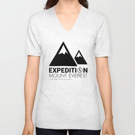 Mount Everest Expedition Unisex V-Neck