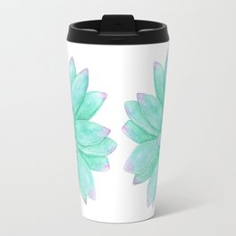 Pachyveria - Green and Red Succulent Travel Mug