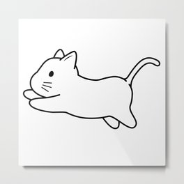Tobe & Friends – Little Kitten Metal Print