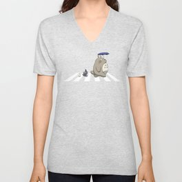 Ghibli Road [Colored] Unisex V-Neck