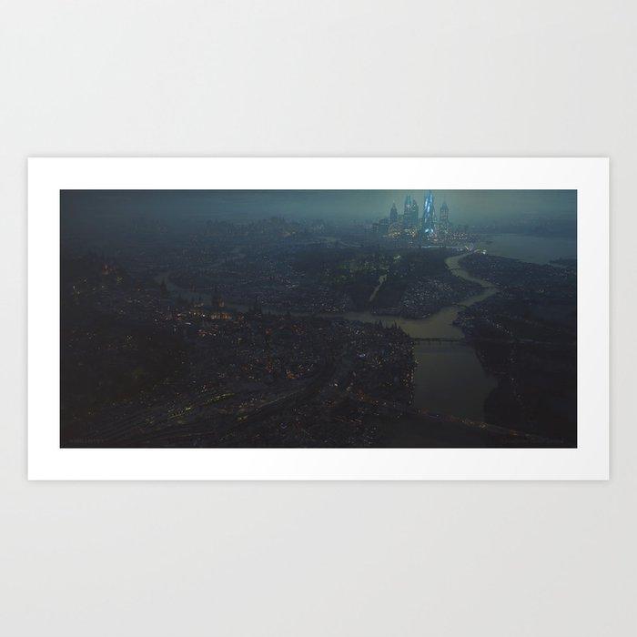 City of Haven Art Print