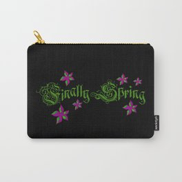 Finally Spring, flowers, nature, season Carry-All Pouch