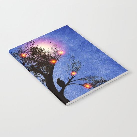 Raven christmas II - HOLIDAZE Notebook