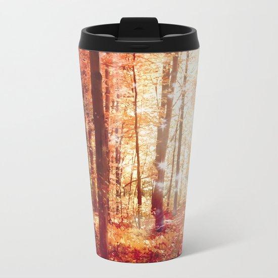 A Soul On Fire Metal Travel Mug