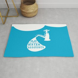 WATER CONSERVATION Rug