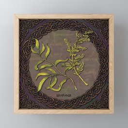 Celtic Willow Framed Mini Art Print