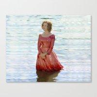 jessica lange Canvas Prints featuring Jessica Lange - Big Fish by BeeJL