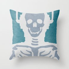 Cyberman Throw Pillow