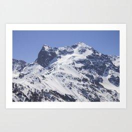 Morado Mountain Art Print