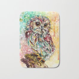 """Moonchild"" Owl Bath Mat"