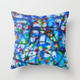 Lego: Jackson Pollock 1 Throw Pillow