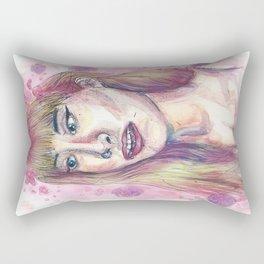 Pink Glow Rectangular Pillow