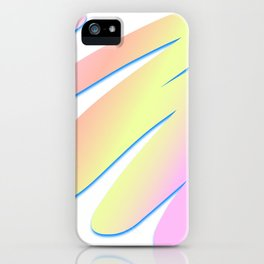 Pastel Scribble iPhone Case