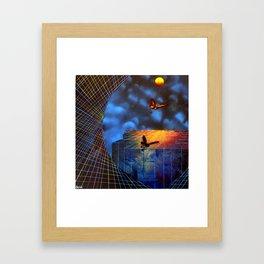 The Evolution of Dreams Framed Art Print