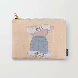 Bad Ass Babe Club Carry-All Pouch