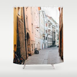 Same Old Cycle | Innsbruck, Austria Shower Curtain