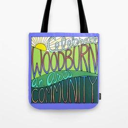Celebrate Woodburn an Arts Community Tote Bag