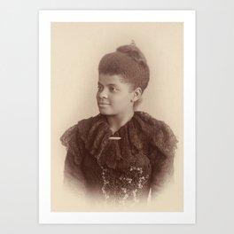 Ida B. Wells 1893 Art Print