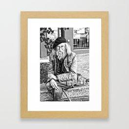"""Brad the Artist"" By: Julia Papasodoro Framed Art Print"