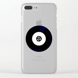 45 RPM Clear iPhone Case