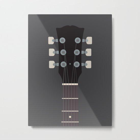Guitar Heroes #2 - Angus Metal Print