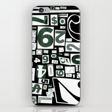 Numbers by Friztin iPhone & iPod Skin