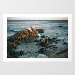 On the Coastline Art Print