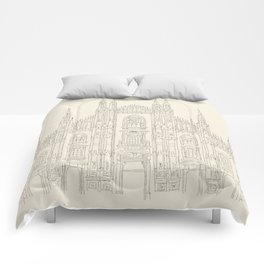 Cathedral of Milan Comforters