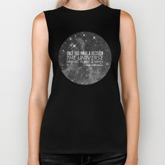 Put yourself out there Biker Tank