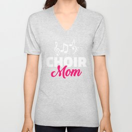 Choir Mom Unisex V-Neck