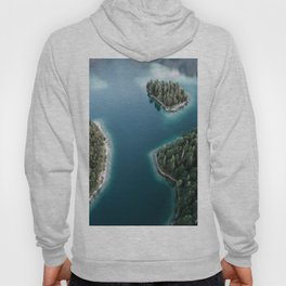 Lakeside Views at Sunset - Landscape Photography Hoody