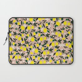 Juicy Lemons Pink Laptop Sleeve