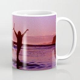 Pacific Epic Sunset: Happy, Joyful & Free! Coffee Mug