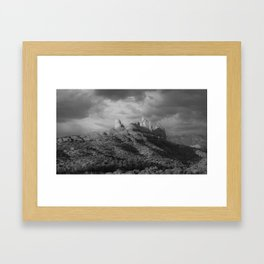 Smoothy Hill Framed Art Print