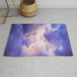 The Skies Are Painted III Rug