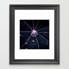 big drop abstract XIV Framed Art Print