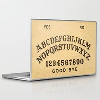 ouija Laptop & iPad Skins featuring Ouija Board by Janismarika