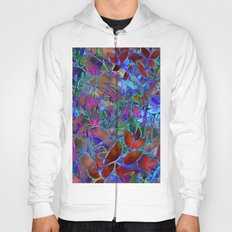 Floral Abstract Stained Glass G174 Hoody