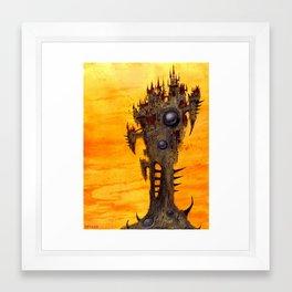 Castle Orlok Framed Art Print