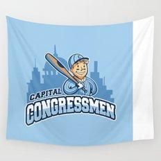 Capital Congressmen Wall Tapestry