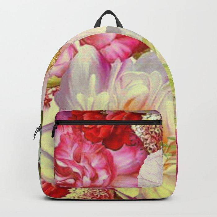 full of flowers Backpack