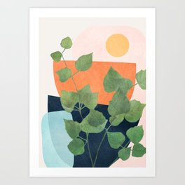 Nature Geometry IX Art Print